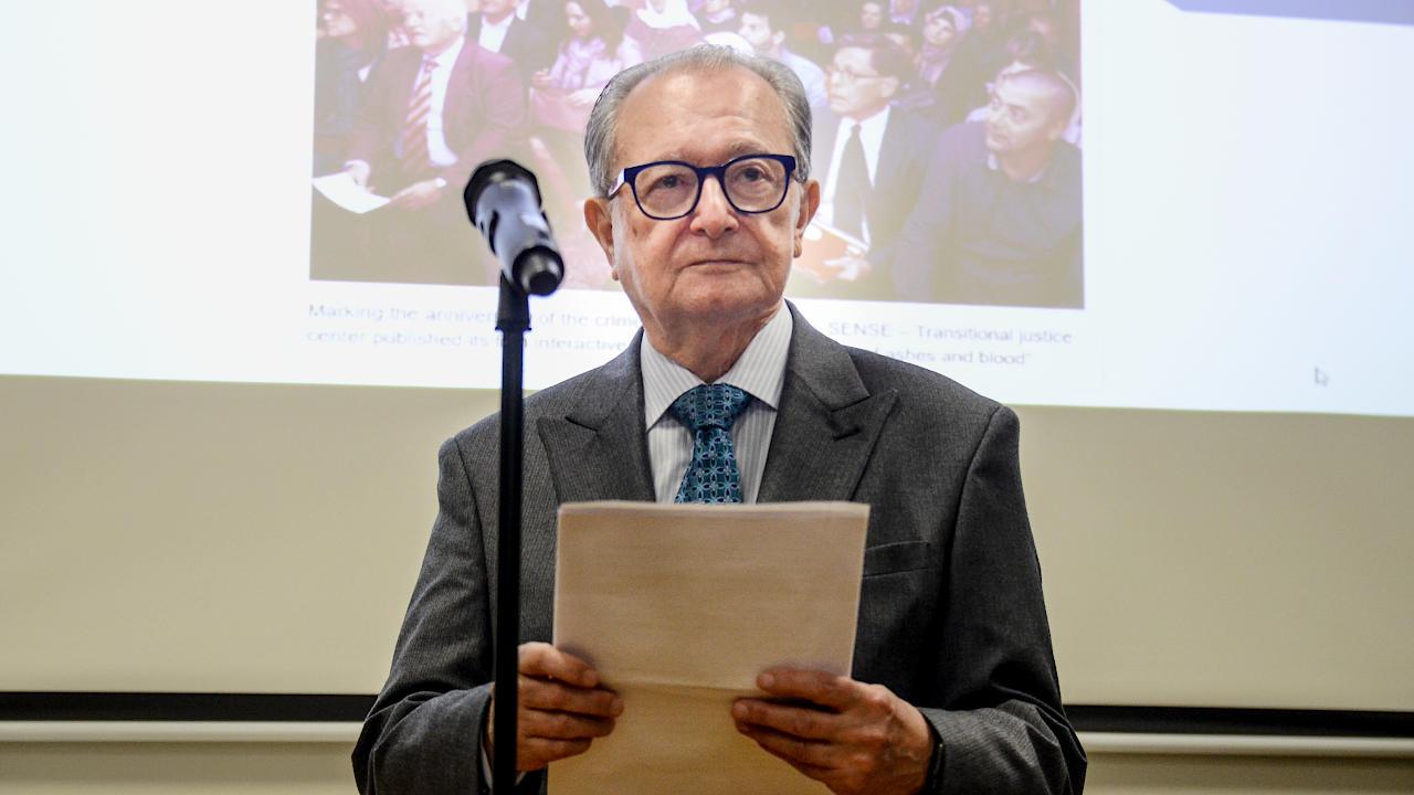 Predsednik Carmel Agius | Photo © Ajdin Kamber