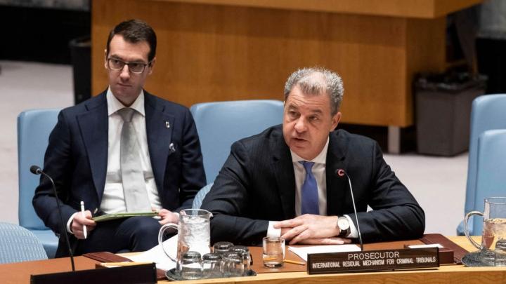 Tužilac Serge Brammertz | UN Photo/Evan Schneider