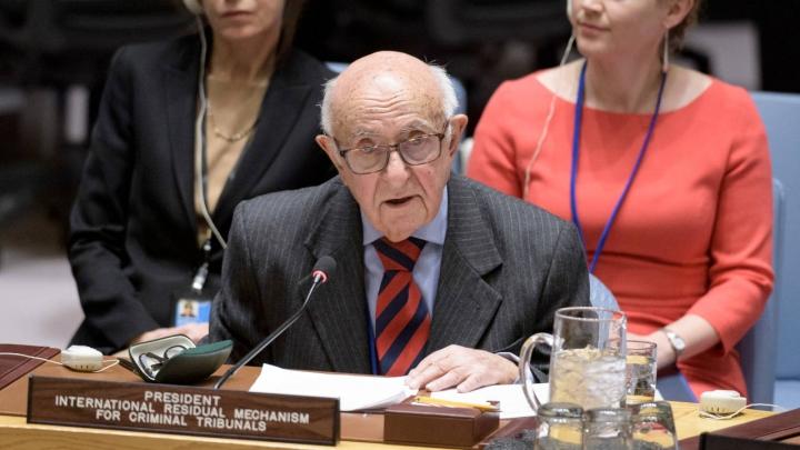 Predsednik Theodor Meron | UN Photo/Manuel Elias