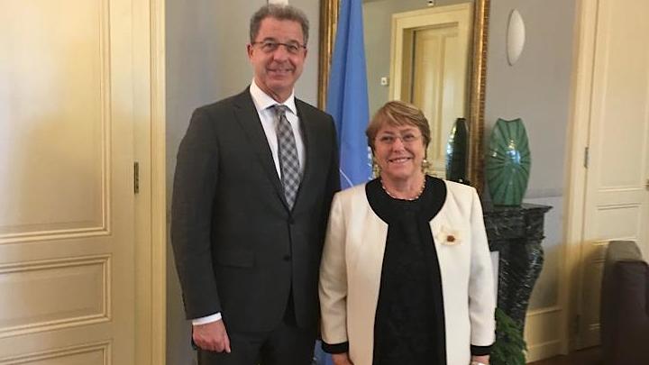 Glavni tužilac Brammertz i Visoka komesarka UN-a za ljudska prava Bachelet